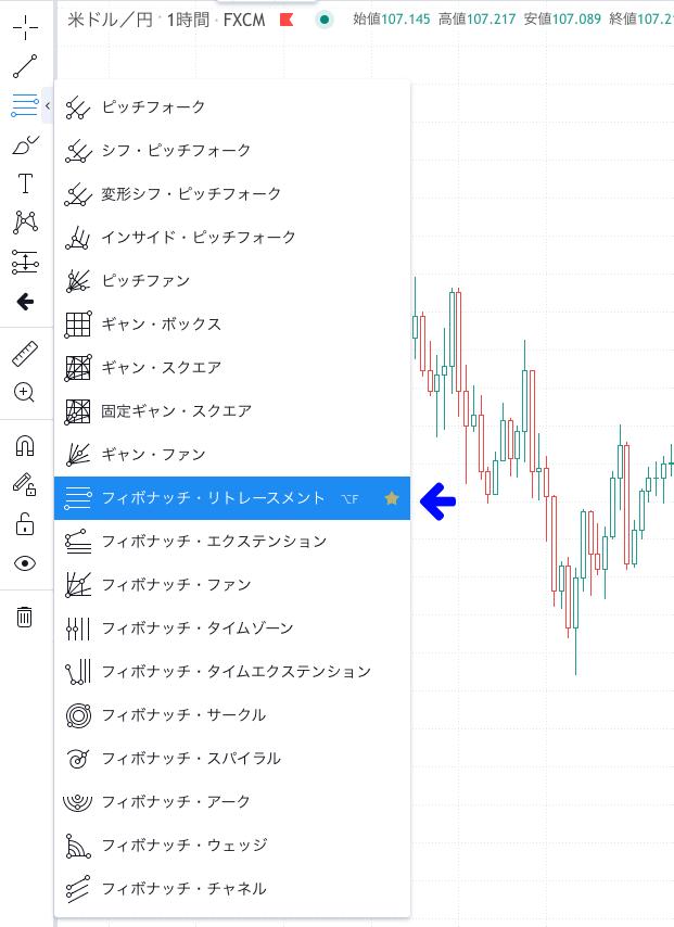 tradingview 使い方 描画ツール